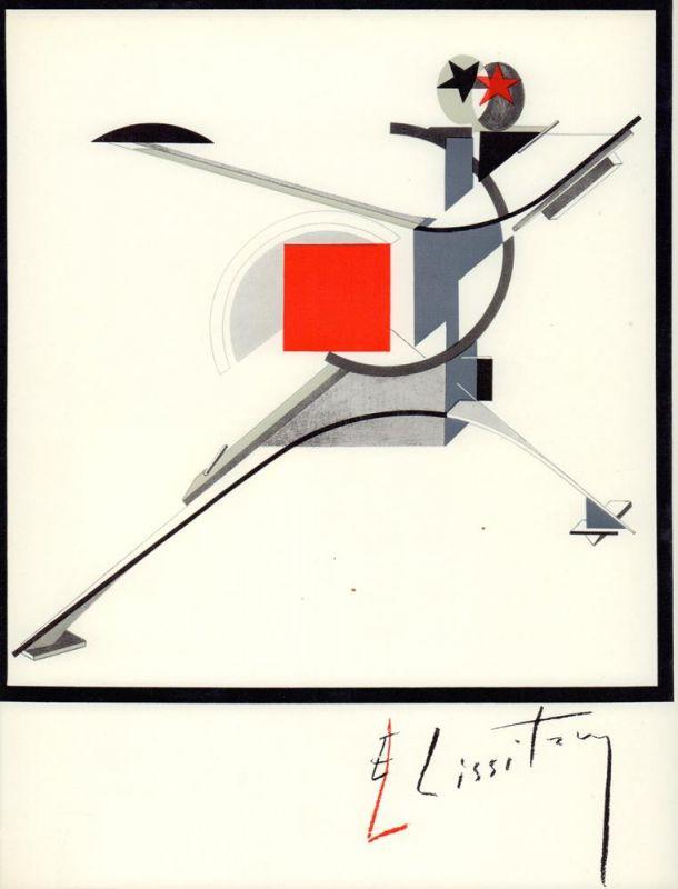 El Lissitzky. Maler, Architekt, Typograf, Fotograf. Erinnerungen, Briefe, Schriften. Übergeben von Sophie Lissitzky-Küppers. [Lizenzausgabe der 3. Aufl.].