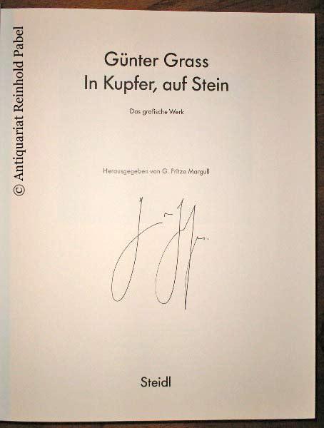 Margull, G. Fritze. Günter Grass - In Kupfer, auf Stein. Das grafische Werk. (Erweiterte Neuauflage der Erstausgabe von 1986).