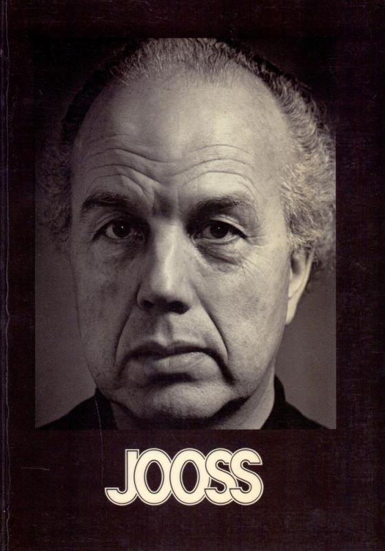 """Markard, Anna / Markard, Hermann. Jooss. Dokumentation, hrsg. zur Ausstellung """"Kurt Jooss - Leben und Werk"""" im Museum Folkwang Essen anläßlich des Festivals """"Folkwang '85""""."""