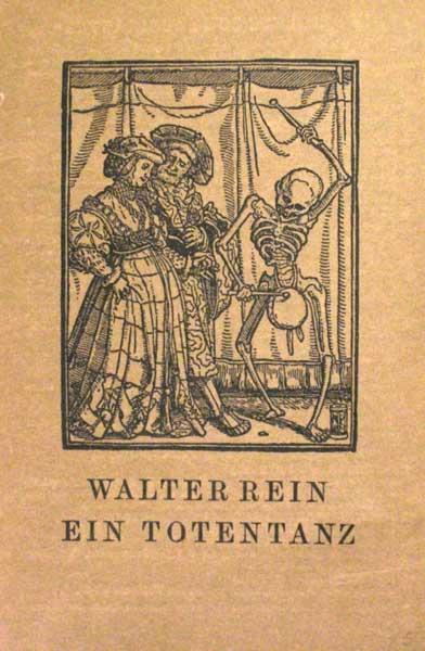 Ein Totentanz. (nach einem alten Volksliede), für Flöte, Triangel, 1. u. 2. Geige, Bratsche, Cello, Kontrabaß und Chor. Hrsg. von Fritz Jöde.
