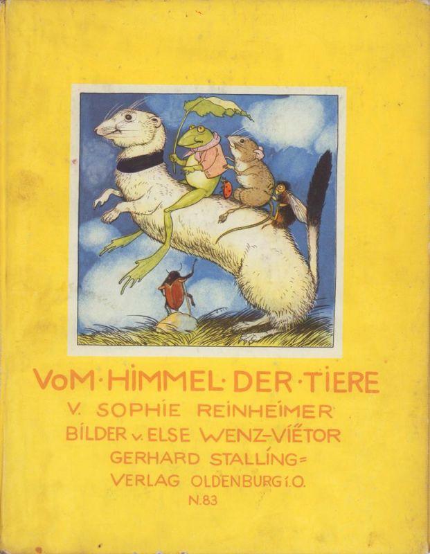Reinheimer, Sophie. Vom Himmel der Tiere. [Originalausgabe].