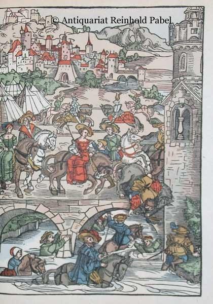 Sachs, Hans. -. Hans Sachsens ausgewählte Werke. (Hrsg. v. Paul Merker u. Reinhard Buchwald. Eingeleitet mit einem Gedicht von Johann Wolfgang v. Goethe). 2 Bde.
