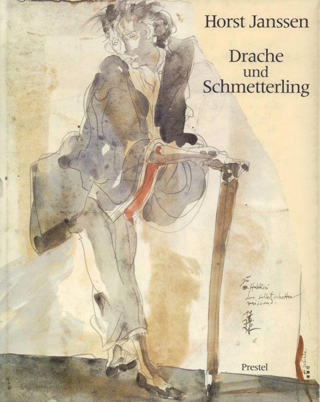 Horst Janssen: Drache und Schmetterling. Zeichnungen und Radierungen nach japanischen Vorbildern.