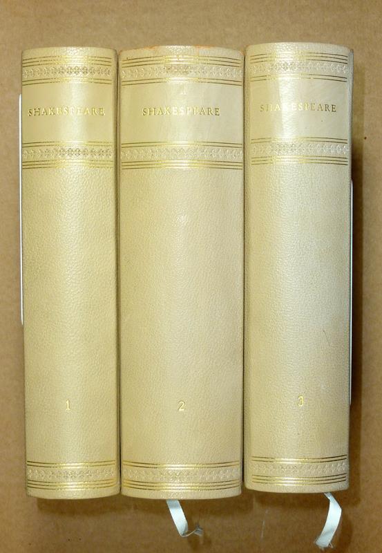 Shakespeare, William. Dramatische Werke. Übersetzt von Aug. Wilh. von Schlegel und Ludw. Tieck. Hrsg. von Alois Brandl. 10 Bde. (= komplett).