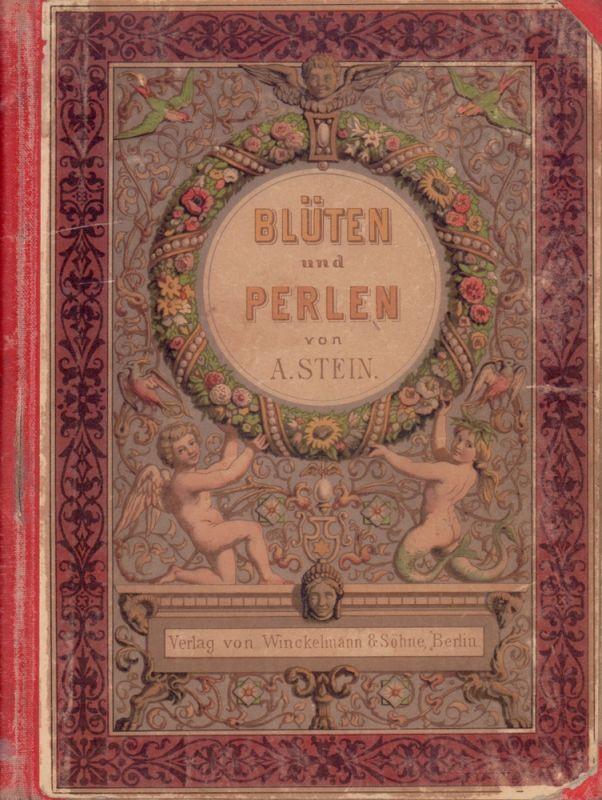 Blüten und Perlen. Kleine Erzählungen für Kinder von 5-8 Jahren. Mit 6 Bildern in Farbendruck nach Aquarellen von Professor Bürkner.