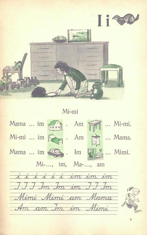 Fibel. Mein erstes deutsches Buch. Lehrbuch für die 2. Klasse der deutschen Schulen. Bukvar'. Moja pervaja nemeckaja kniga. Ucebnik dlja 2 klassa nemeckich skol. 2. izd.