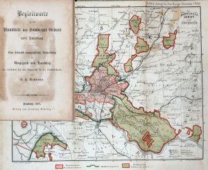 Begleitworte zu der Wandkarte des Hamburger Gebiets nebst Umgebung. Eine historisch topographische Beschreibung der Umgebung von Hamburg als Leitfaden für den Unterricht in der Heimatskunde.
