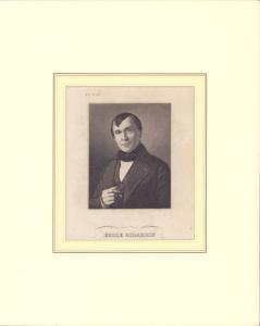 PORTRAIT Emile Girardin. Brustbild im Dreiviertelprofil. Gestochen von N.N.