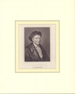 PORTRAIT J. Volpato. Schulterstück im Dreiviertelprofil. Nach Angelica Kauffmann gestochen von N. N.