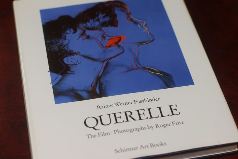 Rainer Werner Fassbinder QUERELLE -The Film- Photographs by Roger Fritz Harcover