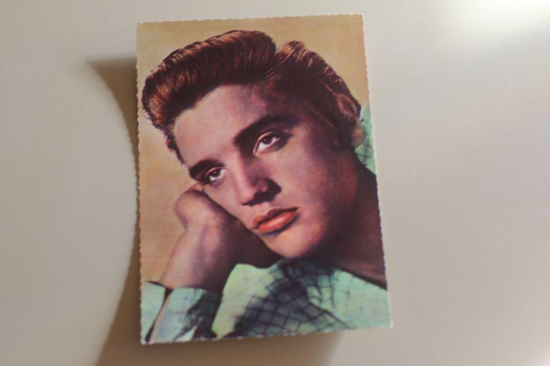 Elvis Presley - Love me tender - Autogrammkarte (ISV A80) 1956 0
