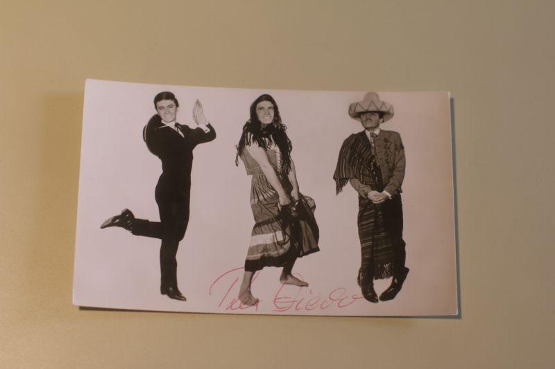 Rex Gildo signierte Autogrammkarte - Maddalena - Tampico-Lady