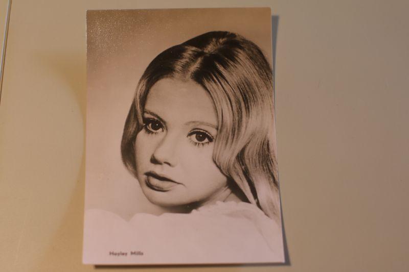 Hayley Mills Autogrammkarte (Progress Film)