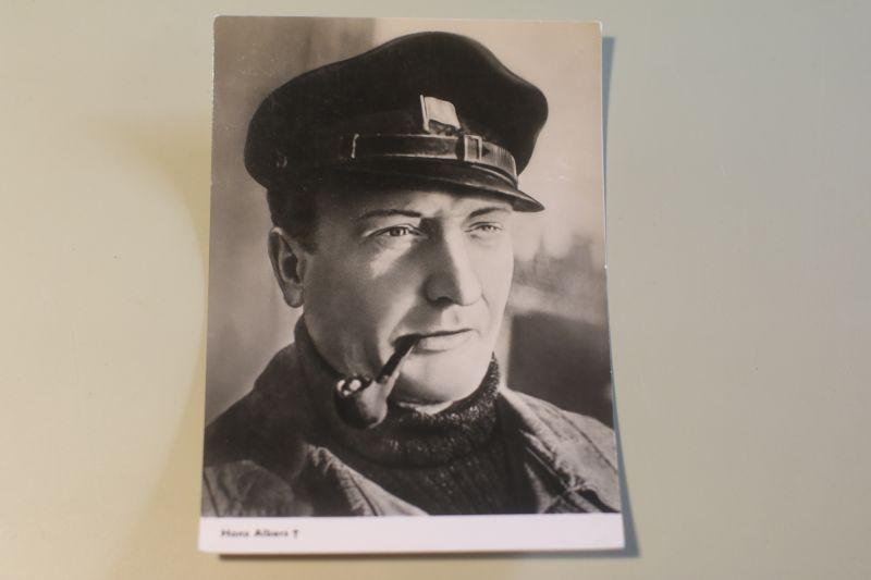 Hans Albers - Große Freiheit Nummer 7 - Autogrammkarte (Progress Film)