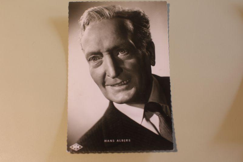 Hans Albers Autogrammkarte - Der Greifer (DfH)