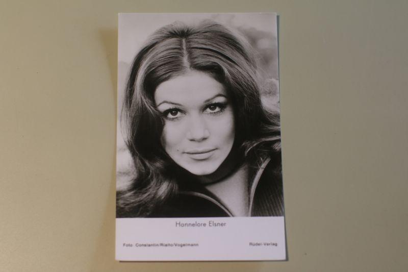 Hannelore Elsner Autogrammkarte - Zum Teufel mit der Penne (Rüdel)