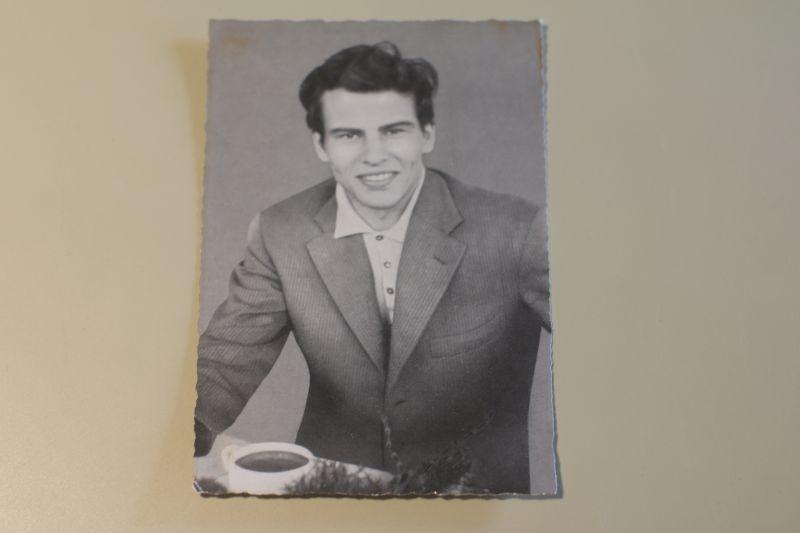 Horst Buchholz Autogrammkarte Nr.200 von dpa (WS-Druck) SELTEN