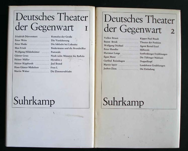 Deutsches Theater der Gegenwart. 2 Bände.