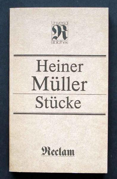 Heiner Müller: Stücke.