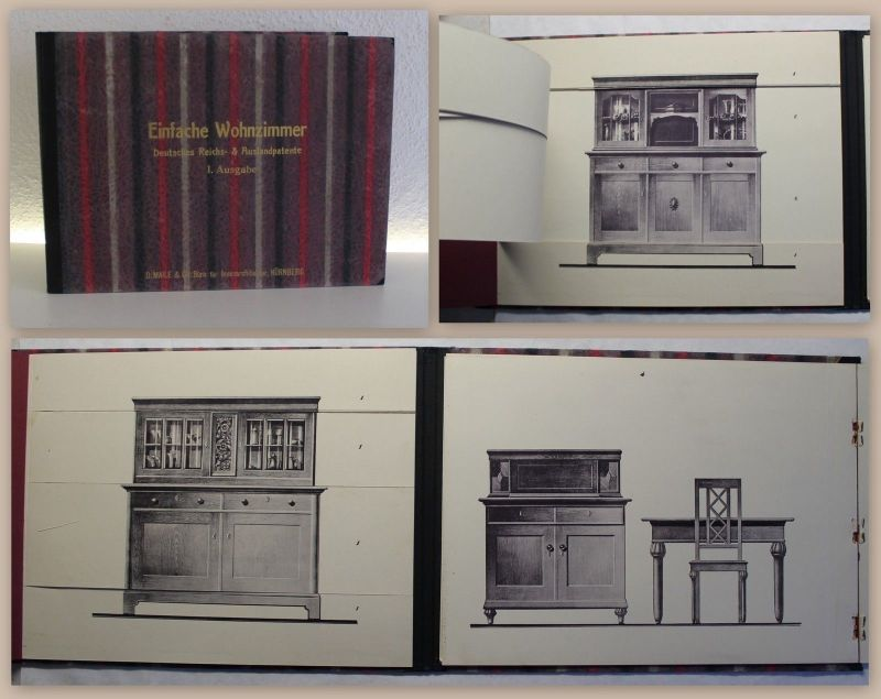 wohnzimmer katalog, d. maile & co. nürnberg wandlungsbuch katalog um 1930 wohnzimmer 1, Design ideen