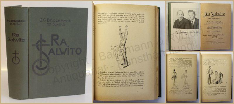 Brockmann & Scholz Ra Salwito Der Heilkünstler 1926 Medizin Wissen Studium xy