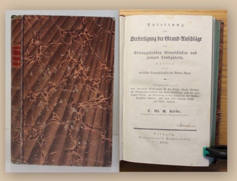 Klebe Anleitung zur Verfestigung der Grundanschläge 1828 Grundstück Hausbau xy