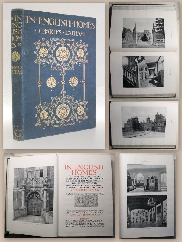 Latham In English Homes Vol II 1907 Character Furniture & Adornments illustr xz