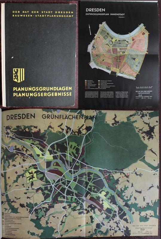 Planungsgrundlagen Planungsergebnisse für den Neuaufbau der Stadt Dresden 1950xz