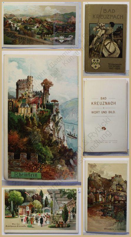 Orig. Prospekt Bad Kreuznach in Wort und Bild 1901 Ortskunde Rheinland-Pfalz xy