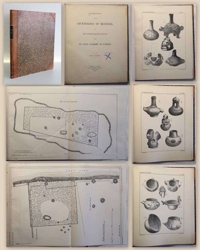 Potter Contributions to the Archaeology of Missouri Part1 Pottery 1880 xz
