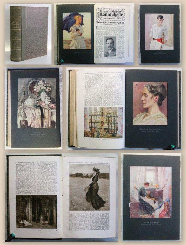 Velhagen & Klasings Monatshefte 1. Band 1918-19  Illustriert Zeitschrift xy