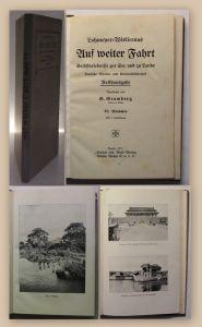 Lohmeyer-Wislicenus Auf weiter Fahrt 1911 Erlebnisse Memoiren Marine Seefahrt xy