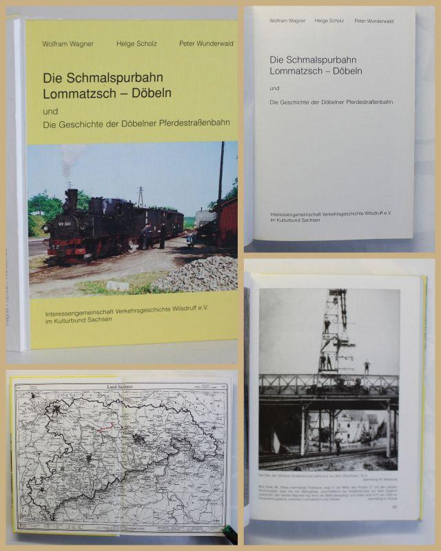 Wagner/Scholz/Wunderwald Die Schmalspurbahn 2001 Geschichte Technik Eisenbahn xy