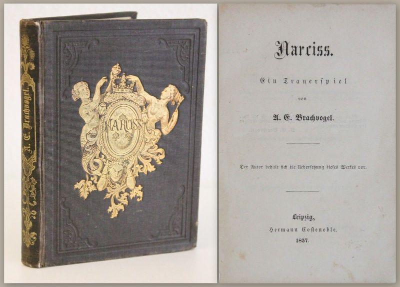 Brachvogel Werk Narciss Ein Trauerspiel 1857 EA Literatur Tragödie Drama xz