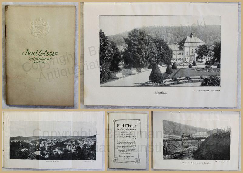 Orig. Prospekt Bad Elster 1912 Sachsen Kurort Ortskunde Landeskunde Geografie xy