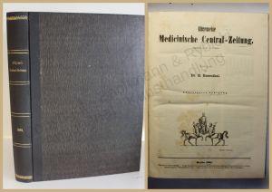 Rosenthal Allgemeine medicinische Central-Zeitung 1881 Medizin Wissen Studium xy