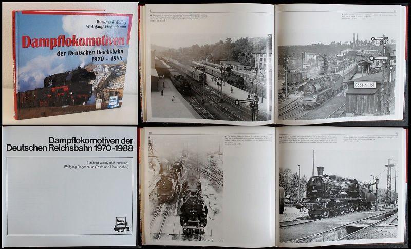 Fiegenbaum - Dampflokomotiven der Deutschen Reichsbahn 1970-1988 - 1998-  xz