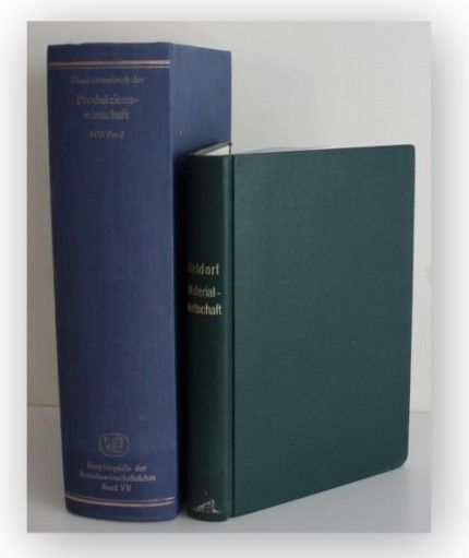 Kern Handwörterbuch Produktionswirtschaft + Materialwirtschaft um 1980 2 Bde xy