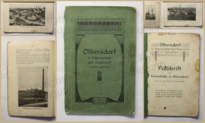 Schulze Olbersdorf in Vergangenheit und Gegenwart in Wort und Bild 1908 xy
