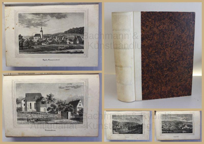 Schmitt Die Oberlausitz Kirchengalerie 1837 Landeskunde Sachsen mit Lithografien 0