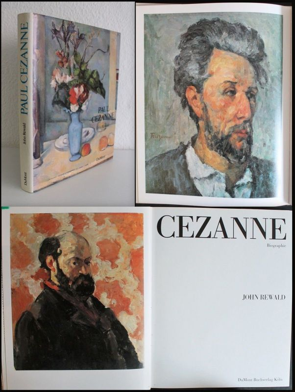 John Rewald Paul Cezanne Biographie 1986 Kunst Malerei Frankreich illustriert xz