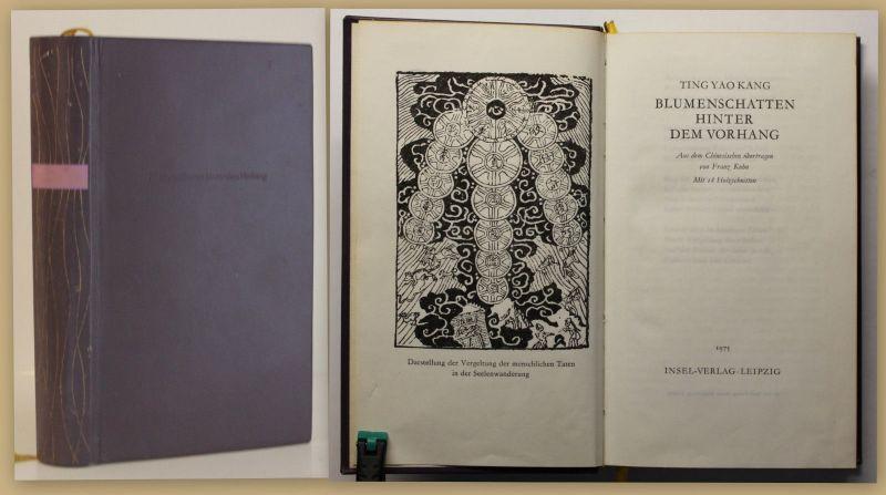 Kang Blumenschatten hinter dem Vorhang 1975 Belletristik Literatur Klassiker sf