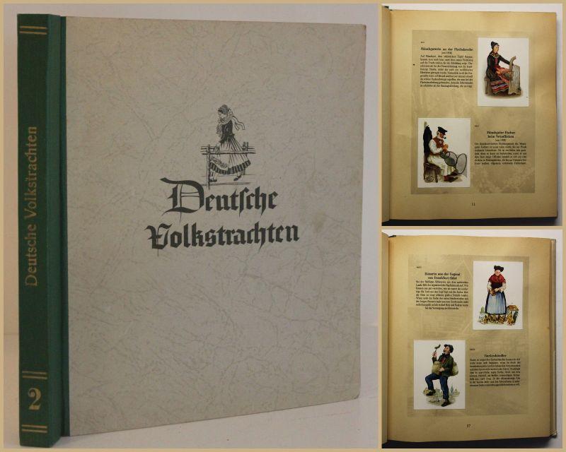 Frietsch/ Fiedler/ König Deutsche Volkstrachten 1955 Tradition Volkskunst sf