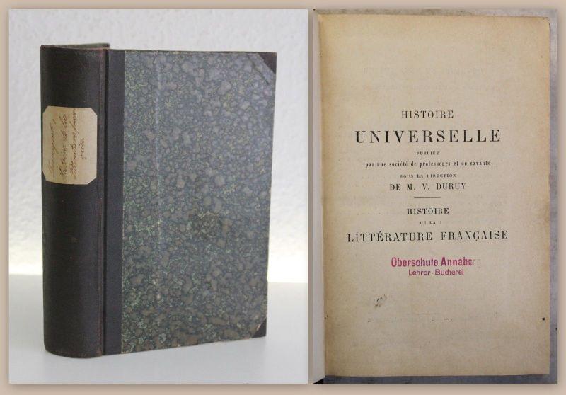 Demogeot Histoire de la Littérature Francaise 1899 franz. Literaturgeschicht xy