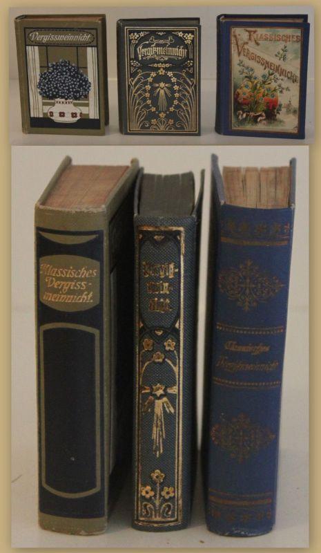 Fehleisen Klassisches Vergißmeinnicht um 1900 3 Bde Religion Christentum sf