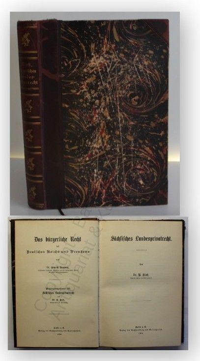 Kloß Das bürgerliche Recht 1904 EA Rechtswissenschaften Jura Juristik Justiz xy