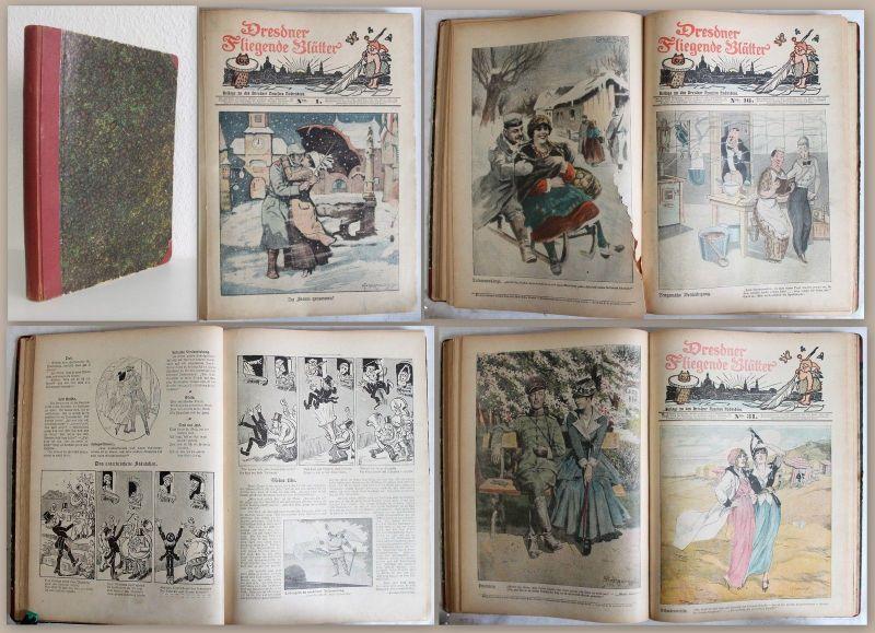 Dresdner Fliegende Blätter ca. 1916 Beilage zu Dresdner Neueste Nachrichten - xz