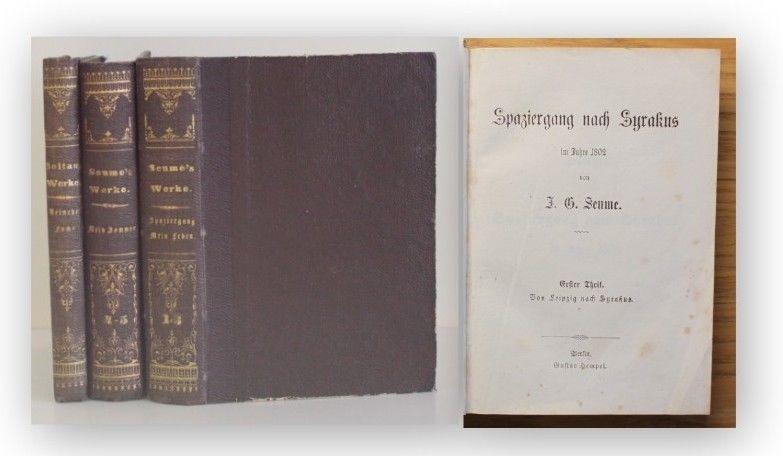 Seune Mein Sommer um 1805 2 Bde + Beigabe von Soltau Belletristik Klassiker xy