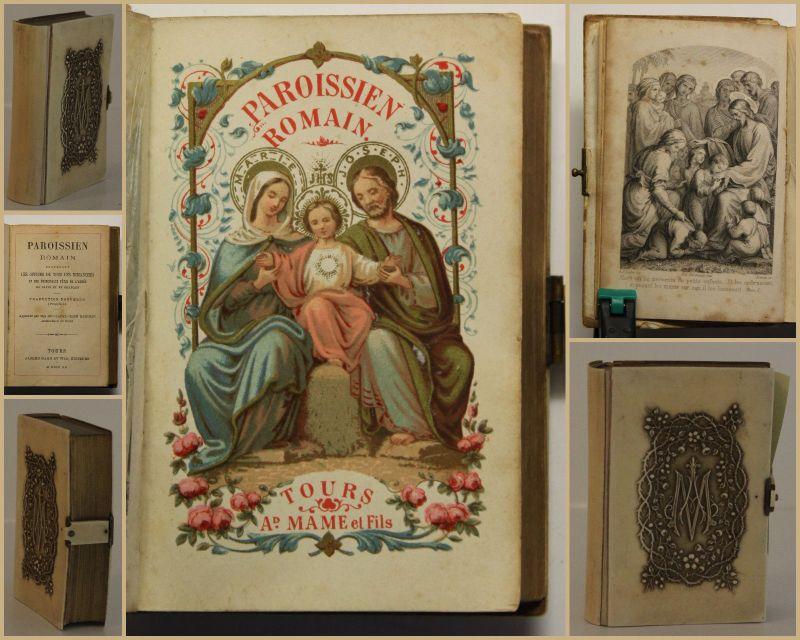 Meignan Paroissien 1890 Belletristik Klassiker Weltliteratur Römer Geschichte sf