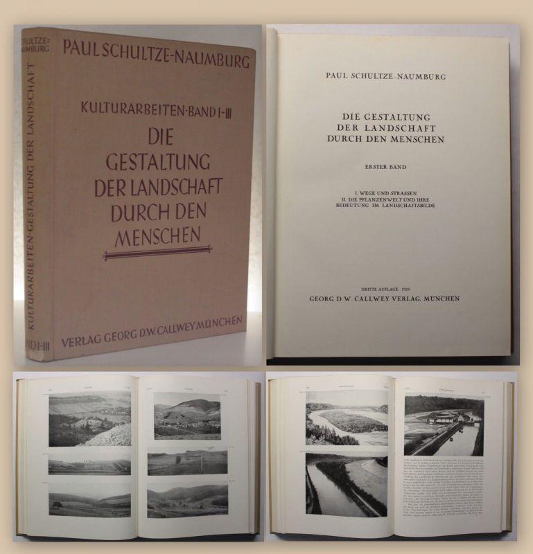 Schultze Naumburg Die Gestaltung der Landschaft durch den Menschen 1928 xy
